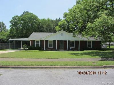 Montgomery Single Family Home For Sale: 1867 Gatewood Drive