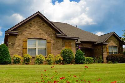 Wetumpka Single Family Home For Sale: 158 Village Knoll