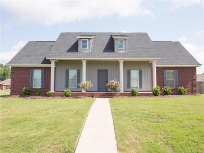 Wetumpka Single Family Home For Sale: 11 Ben Court