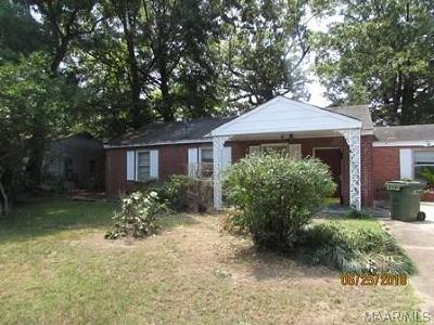 Montgomery Single Family Home For Sale: 103 Collinwood Avenue