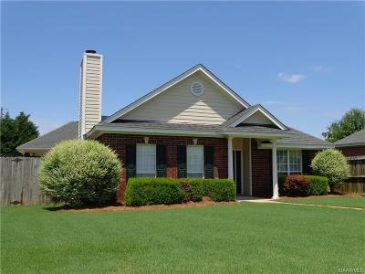 Prattville Single Family Home For Sale: 115 Doss Court