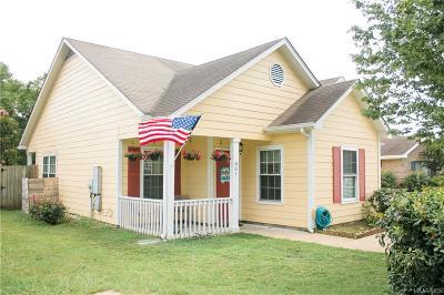 Prattville Single Family Home For Sale: 807 Cottage Lane