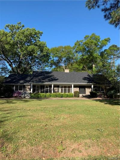 Selma Single Family Home For Sale: 8 Pine Acres