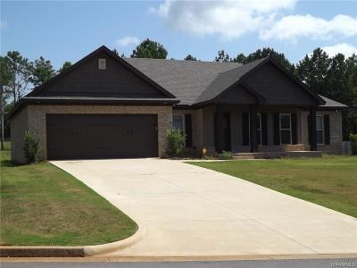 Wetumpka Single Family Home For Sale: 62 Mulder Cove Lane