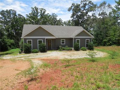 Tallassee Single Family Home For Sale: 1052 Riverknolle Road