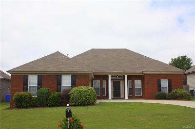 Prattville Single Family Home For Sale: 1036 Thistle Road