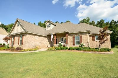 Wetumpka Single Family Home For Sale: 349 Sherwood Trail