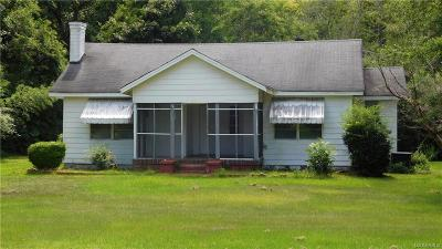 Wetumpka Single Family Home For Sale: 1003 Jackson Trace Road