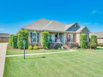 Wetumpka Single Family Home For Sale: 130 Village Court