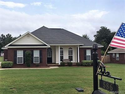 Prattville Single Family Home For Sale: 586 River Birch Drive