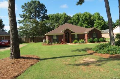 Wetumpka Single Family Home For Sale: 80 Honeysuckle Court