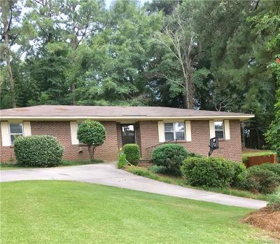 Prattville Single Family Home For Sale: 656 Partridge Lane