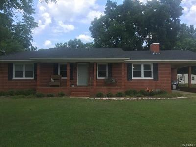 Selma Single Family Home For Sale: 185 County Road 904 Street