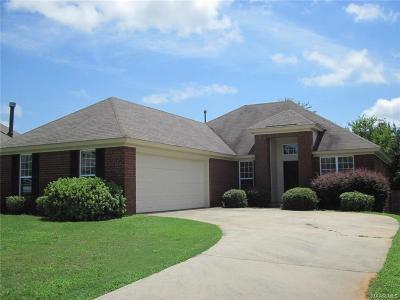 Prattville Single Family Home For Sale: 2005 Regent Road
