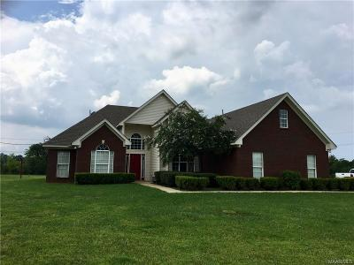 Montgomery Single Family Home For Sale: 1596 Grant Road