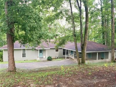 Wetumpka Single Family Home For Sale: 55 Briarcliff Road