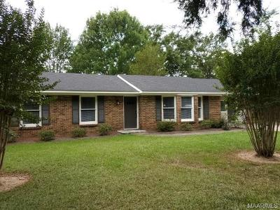 Selma Single Family Home For Sale: 405 Barrett Road