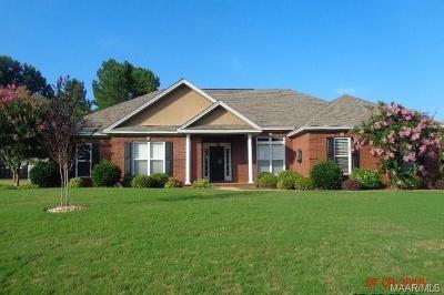 Wetumpka Single Family Home For Sale: 273 Poplar Grove Drive