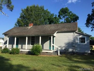 Tallassee Single Family Home For Sale: 303 3rd Street