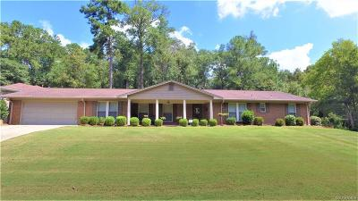 Prattville Single Family Home For Sale: 206 Deer Trace