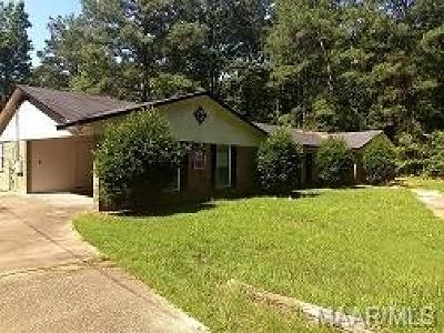 Montgomery Single Family Home For Sale: 2065 Todd Road