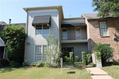 Hillwood Condo/Townhouse For Sale: 3124 Malone Drive