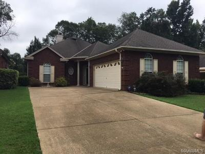 Wetumpka Single Family Home For Sale: 247 River Birch Circle