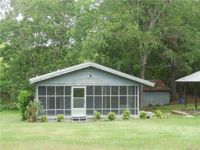 Wetumpka Single Family Home For Sale: 7509 Weoka Road