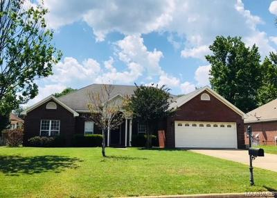 Prattville Single Family Home For Sale: 1265 Cross Creek Road