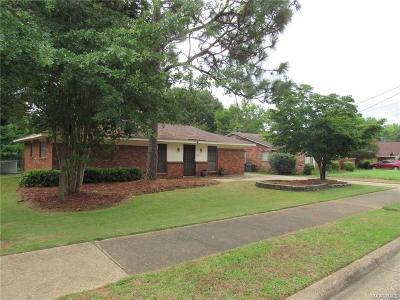 Montgomery AL Single Family Home For Sale: $79,900
