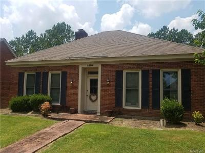 Montgomery Single Family Home For Sale: 1516 Charleton Drive