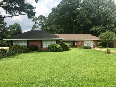 Montgomery Single Family Home For Sale: 4826 Washington Ferry Road