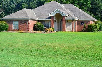 Wetumpka Single Family Home For Sale: 295 Cedar Ridge Drive
