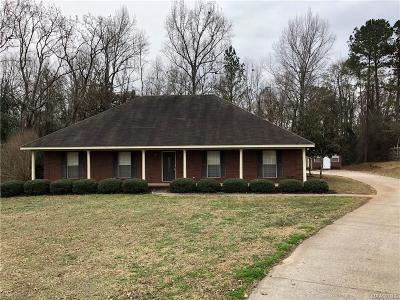 Tallassee Single Family Home For Sale: 64 White Oak Lane
