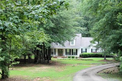 Wetumpka Single Family Home For Sale: 171 Overlook Valley Road