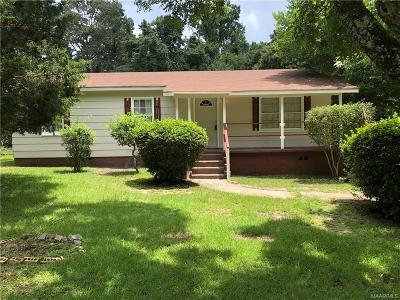 Prattville Single Family Home For Sale: 1428 Autauga Heights Road
