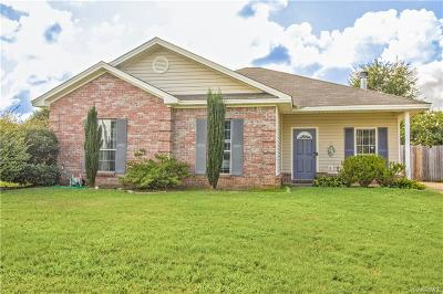 Wetumpka Single Family Home For Sale: 56 Barnes Court