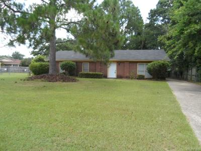Montgomery Single Family Home For Sale: 804 Balfour Road