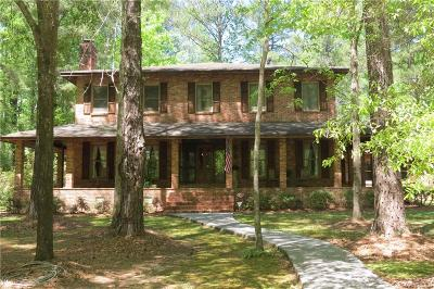 Wetumpka Single Family Home For Sale: 393 Harrogate Springs Road