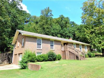 Prattville Single Family Home For Sale: 654 Selma Highway
