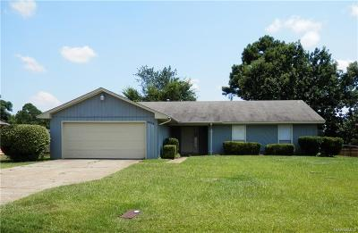 Prattville Single Family Home For Sale: 1314 Upper Kingston Road