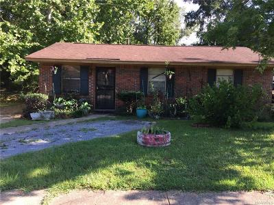 Montgomery AL Single Family Home For Sale: $45,000