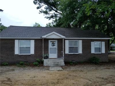 Wetumpka Single Family Home For Sale: 1614 Fitzpatrick Road
