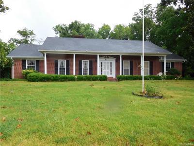 Wetumpka Single Family Home For Sale: 401 W. Bridge Street