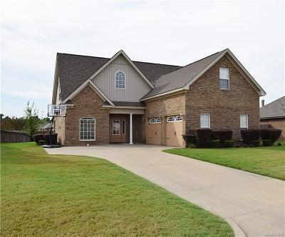 Wetumpka Single Family Home For Sale: 28 Country Club Loop