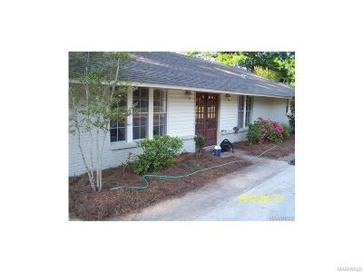 Montgomery Single Family Home For Sale: 4405 Wares Ferry Road