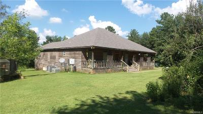 Prattville Single Family Home For Sale: 1636 W County Road 40 Road