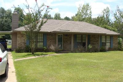 Wetumpka Single Family Home For Sale: 536 Williams Road