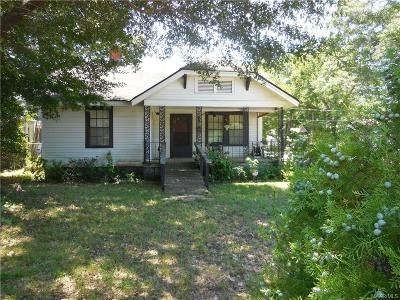 Wetumpka Single Family Home For Sale: 7 N Alabama Street