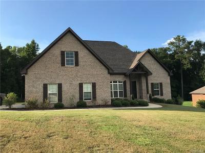 Wetumpka Single Family Home For Sale: 48 Timber Ridge